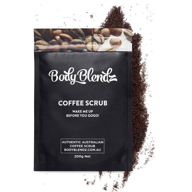 Kahvi + suola = pehmeä iho