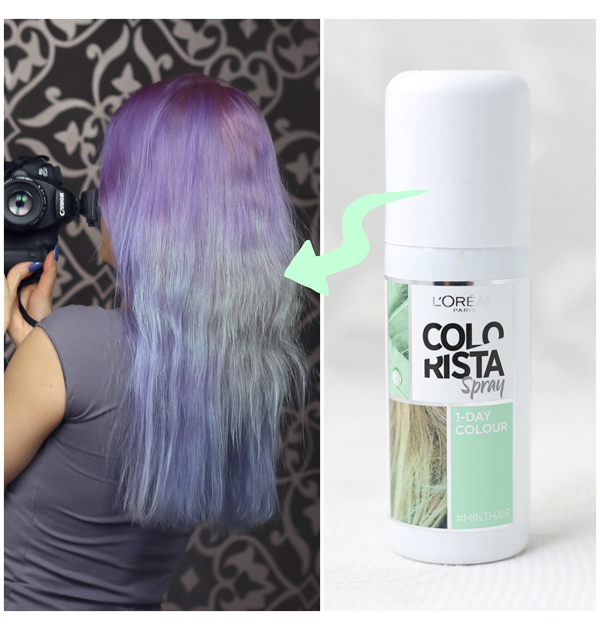 Colorista Spray Minthair
