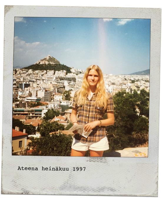 Minä ja Kreikka 20 vuotta sitten