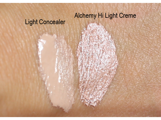Ecominerals swatches