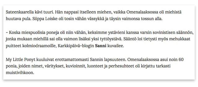 Ponijuttu_Pokka_