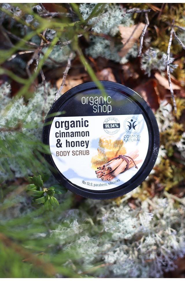 Organic Shop Body Scrub
