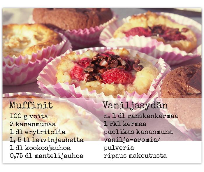 sokeriton muffini