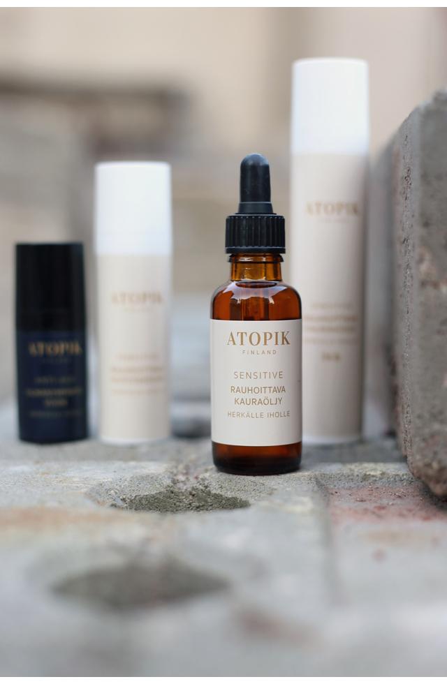ATOPIK – uusi kotimainen luonnonkosmetiikan apteekkisarja