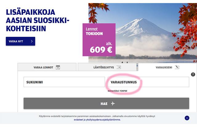 Finnair_varaukseni