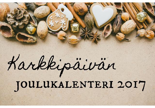 Joulukalenteri 2017