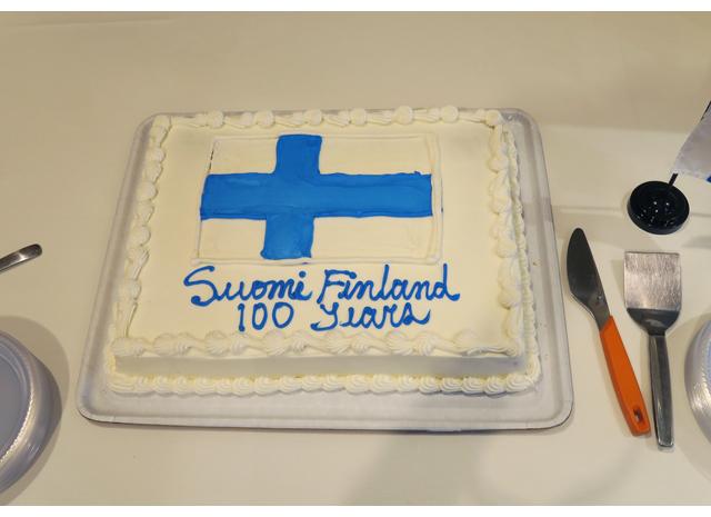Suomi 100 vuotta -juhlalounas