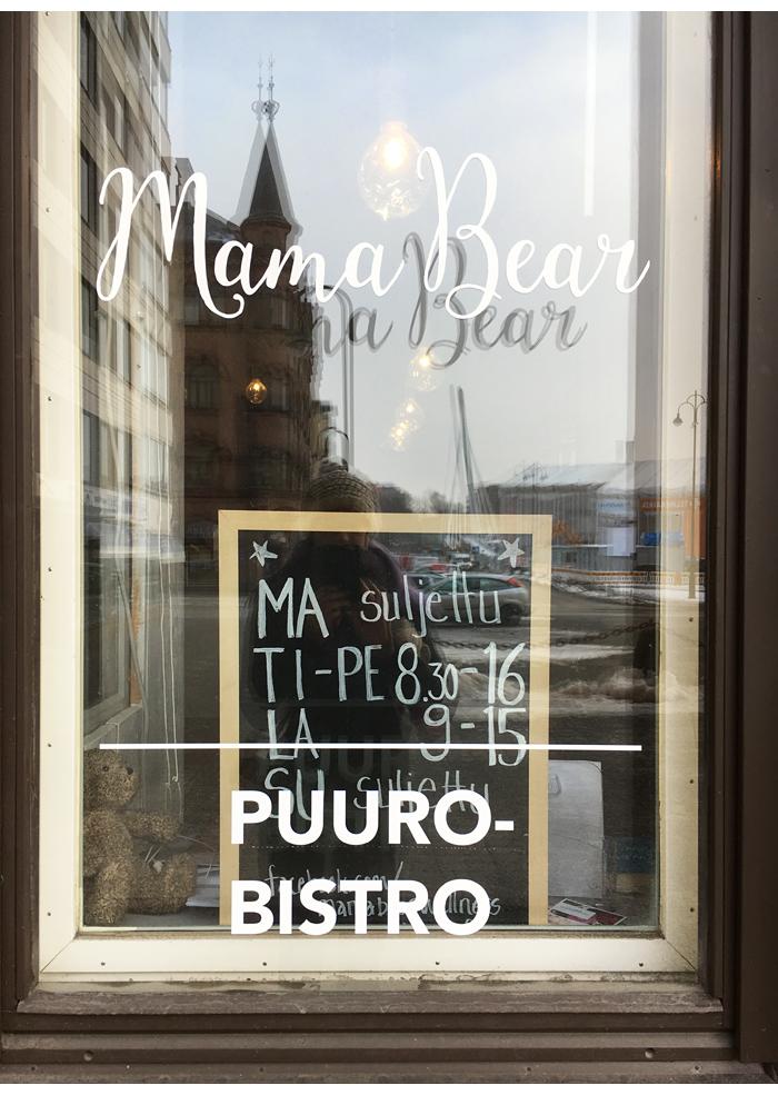 Aamiaisvinkki: Mama Bear -puurobistro