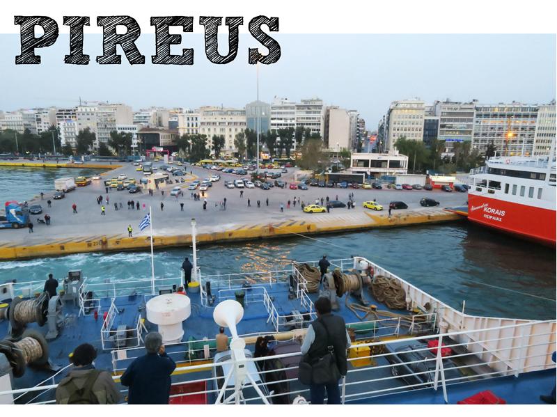 Kreikan satamaopas: Pireus – näin löydät oikeaan laivaan