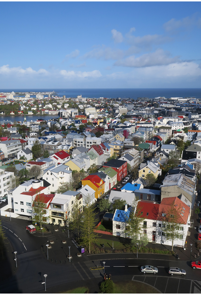 Reykjavik – vaatekerroksia, kallista ja värikästä