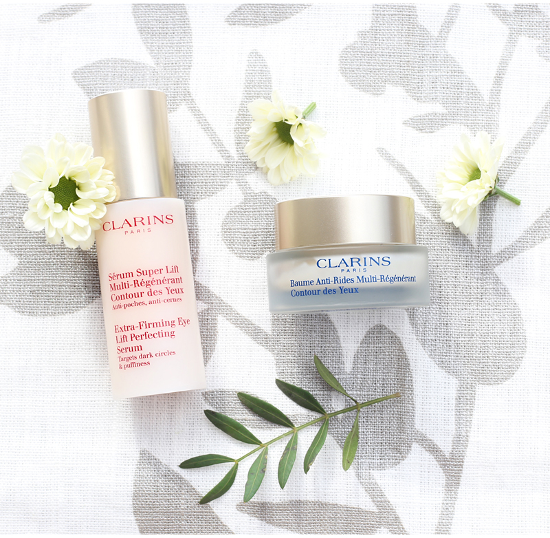 Juonteiden hoito jatkuu: Clarins Extra-Firming -silmänympärysvoiteet