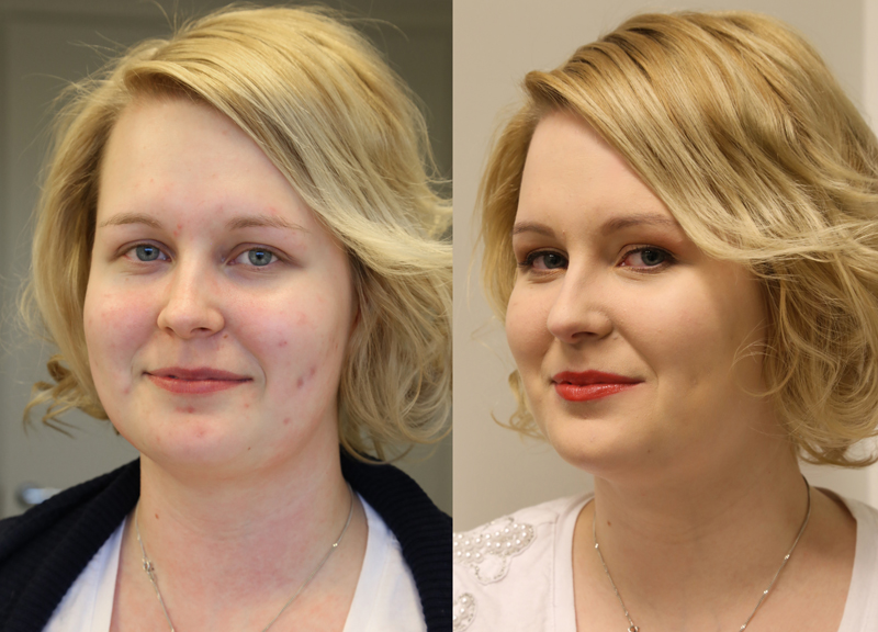 Makeover-viikko: Dermablend-lukijameikkaukset