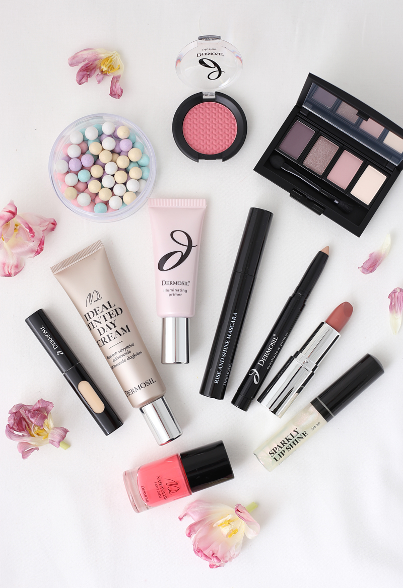 Keväinen meikkiarvonta ja katsaus Dermosilin meikkeihin