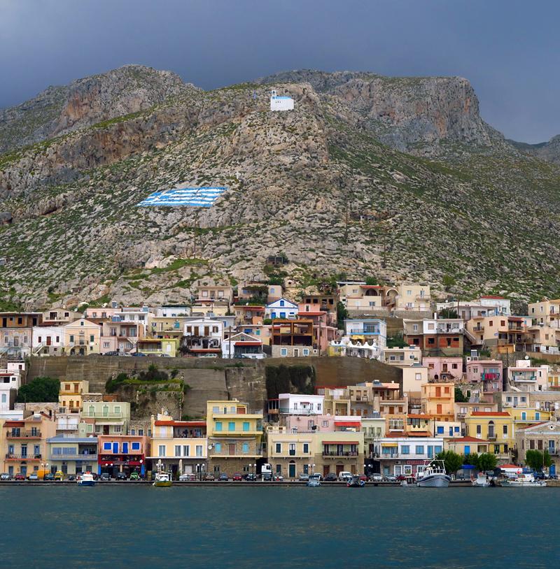 Värikäs Kalymnos hurmaa monenlaisen matkaajan
