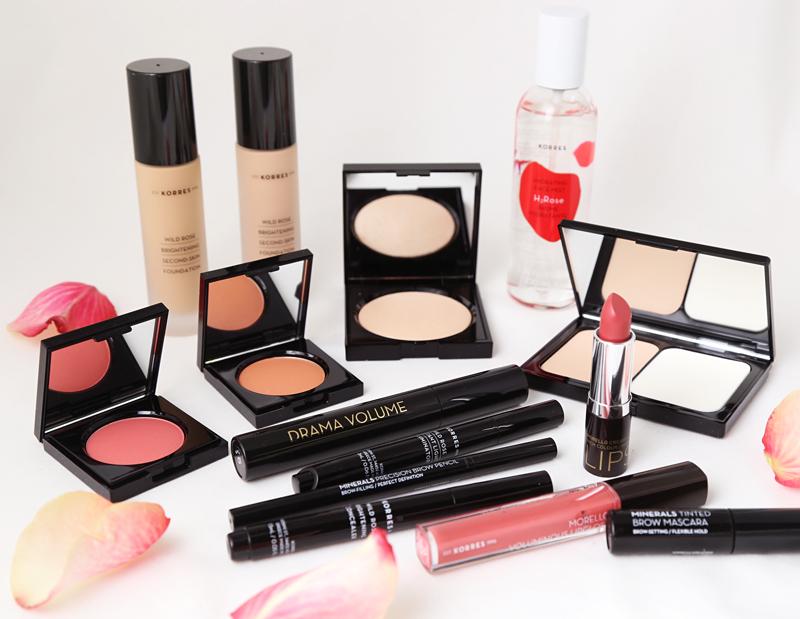 Korres Wild Rose -meikit & arvonta + voita ihana meikkivoide!
