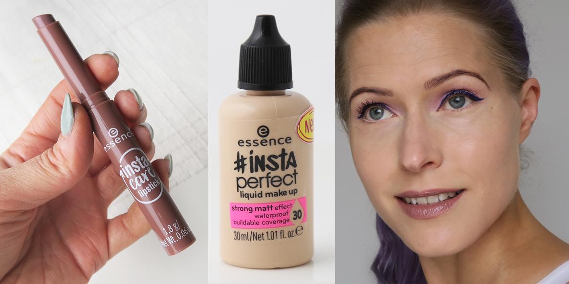Essence Insta-hyvää: Insta Perfect -meikkivoide ja ihana sheavoi-huulipuna