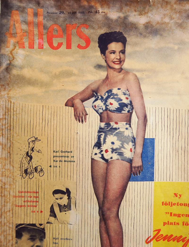 1940-luvun kauneudenhoito-ohjeita aurinkoon