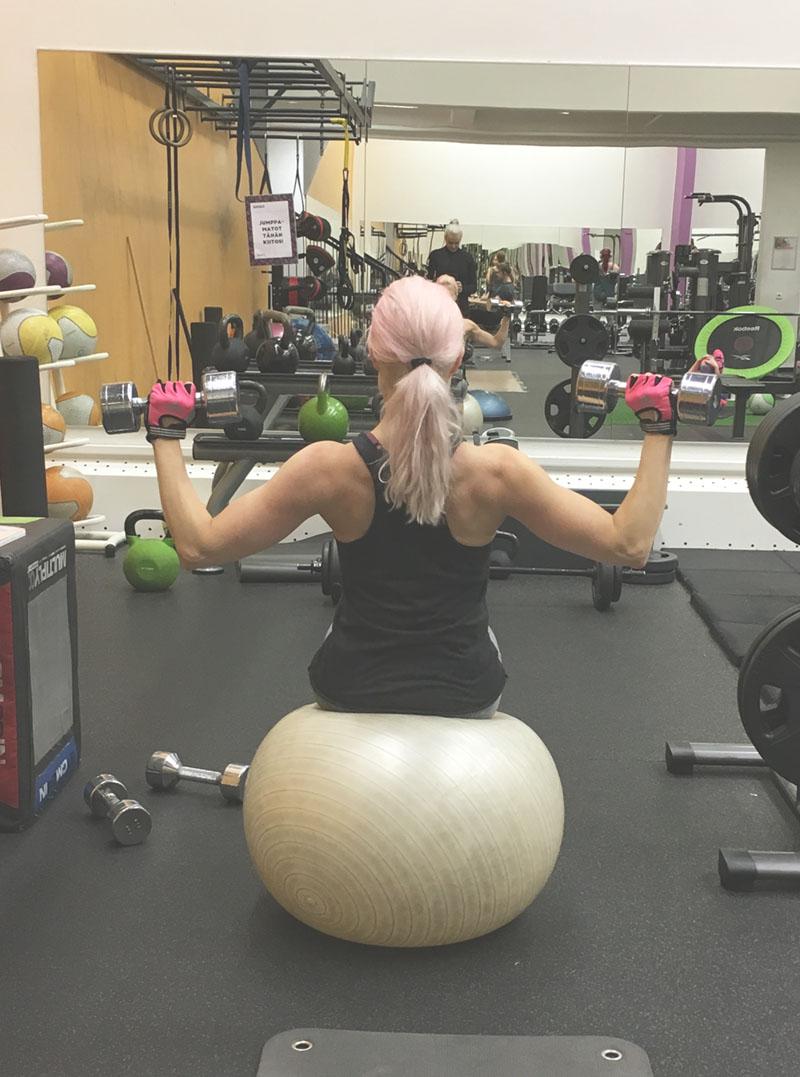 Palauttavaa liikuntaa ja luontodokkareita uupuneelle