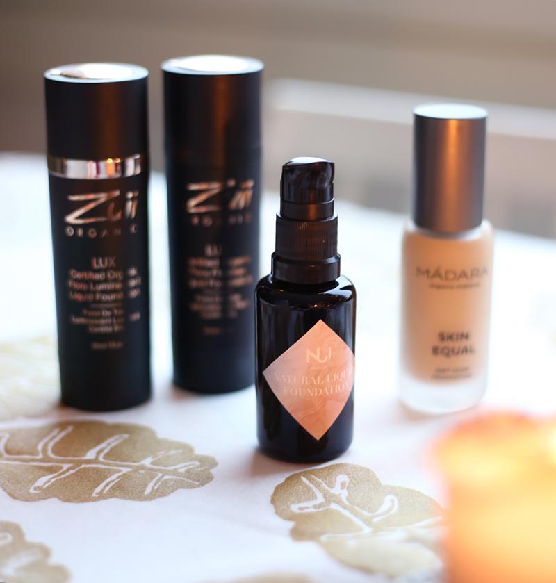 Luonnonkosmetiikan parhaat nestemäiset meikkivoiteet