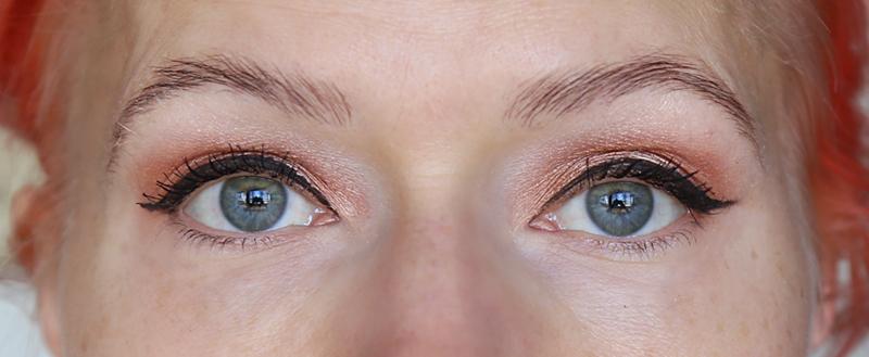 Kulmakarvojen laminointi – 3 viikkoa käsittelystä