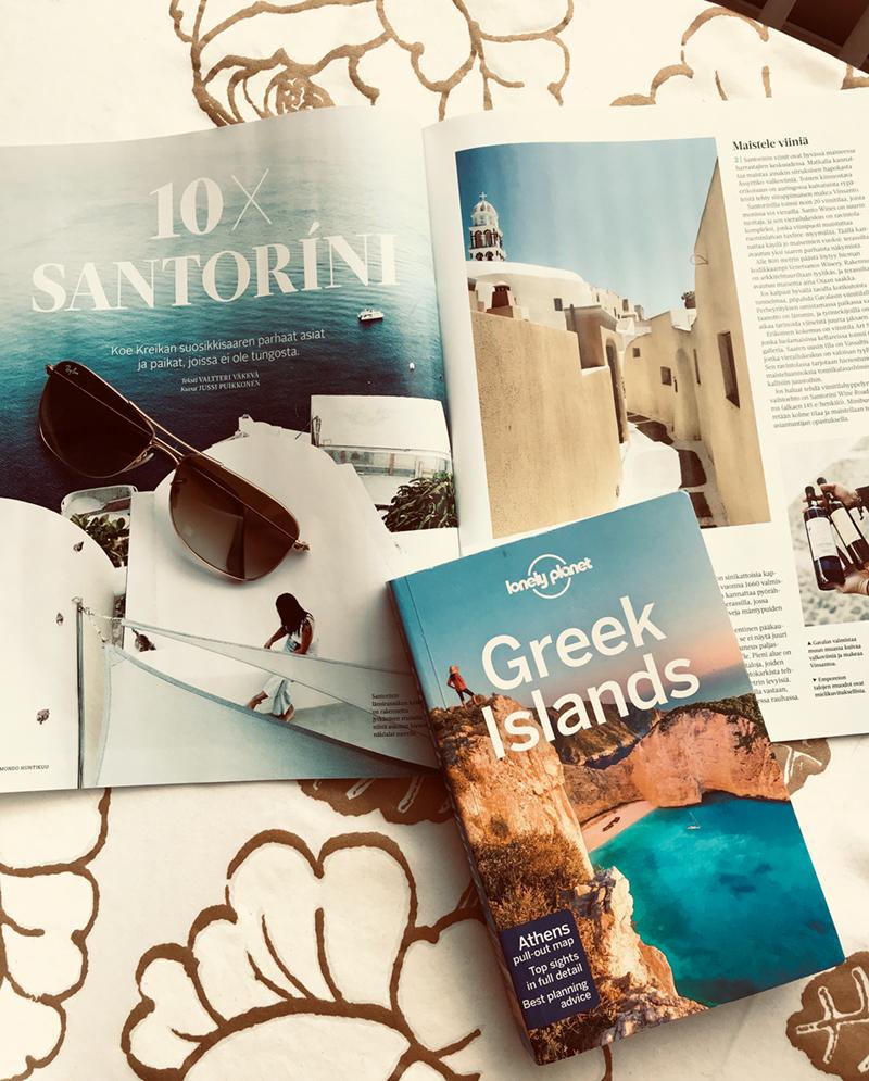 Santorini — ma chérie