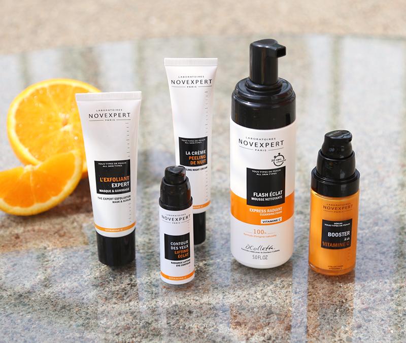 Jälkkärin tuoksuista laatuluonnonkosmetiikkaa – esittelyssä Novexpert C-vitamiini-tuotteet