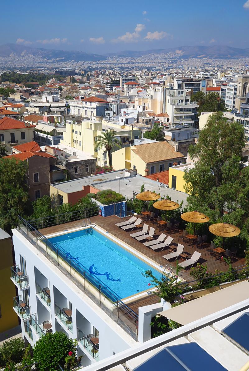 Ateenan parhaat hotellit rooftop-uima-altailla