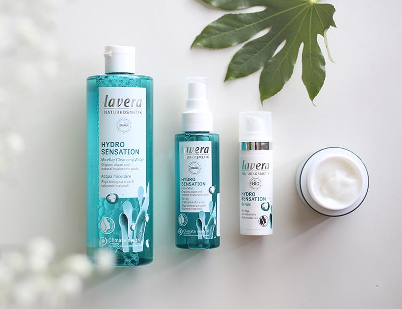 Uusi kosteuttava ihonhoitosarja Laveralta: Hydro Sensation