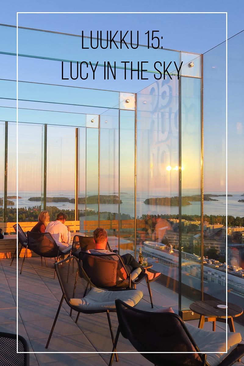 Joulukalenteri 2020, luukku 15: kun maisemalla on väliä – Lucy In The Sky