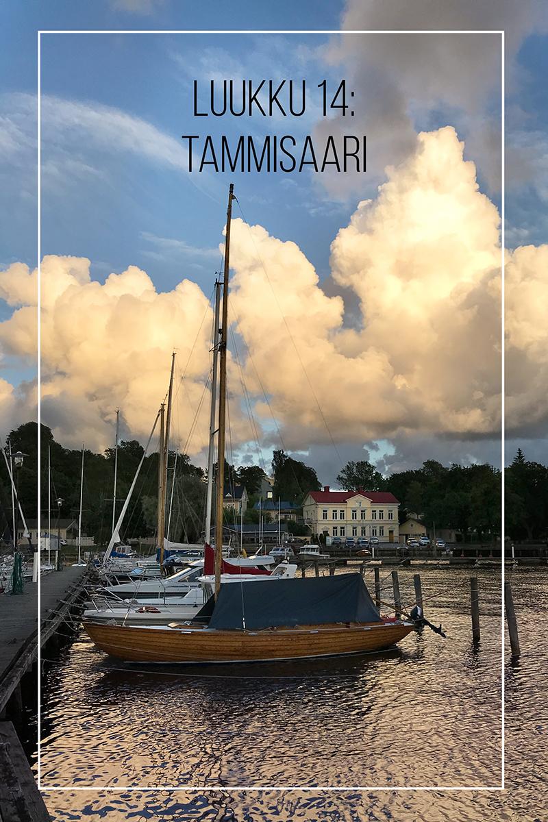 Joulukalenteri 2020, luukku 14: lämpöä Tammisaaressa