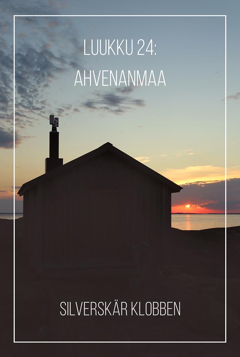 Joulukalenteri 2020, luukku 24: autuutta Ahvenanmaalla & voita yö omassa saaressa