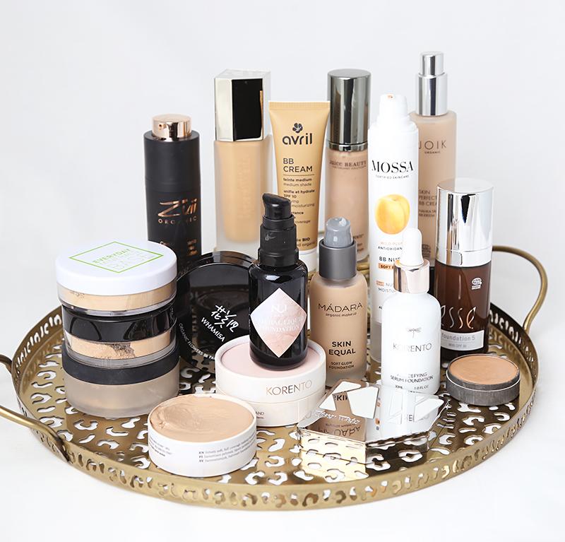 Jättipostaus: parhaat luonnonkosmetiikan meikkivoiteet