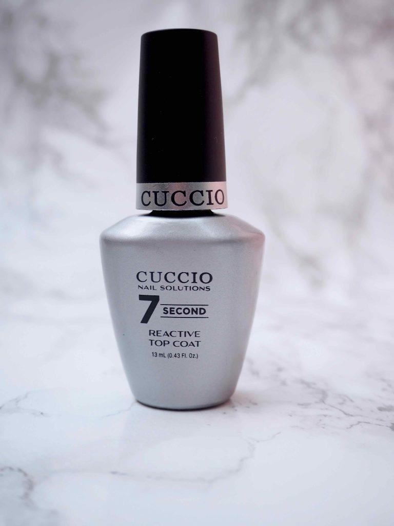 Cuccio 7 Second Reactive Top Coat