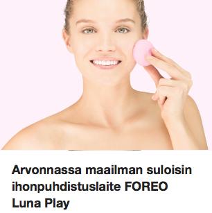 Foreo Luna Play Arvonta Ostolakossa