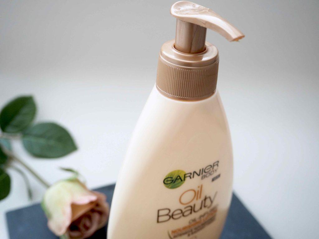 Garnier Body Oil Beauty Oil-Infused Nourishing Lotion vartalovoide