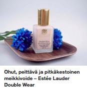 Estee Lauder Double Wear meikkivoide kokemuksia