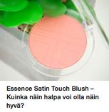 Essence poskipuna meikit kokemuksia