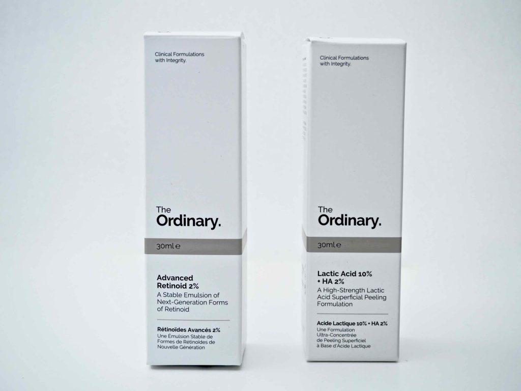 The Ordinary tuotteet