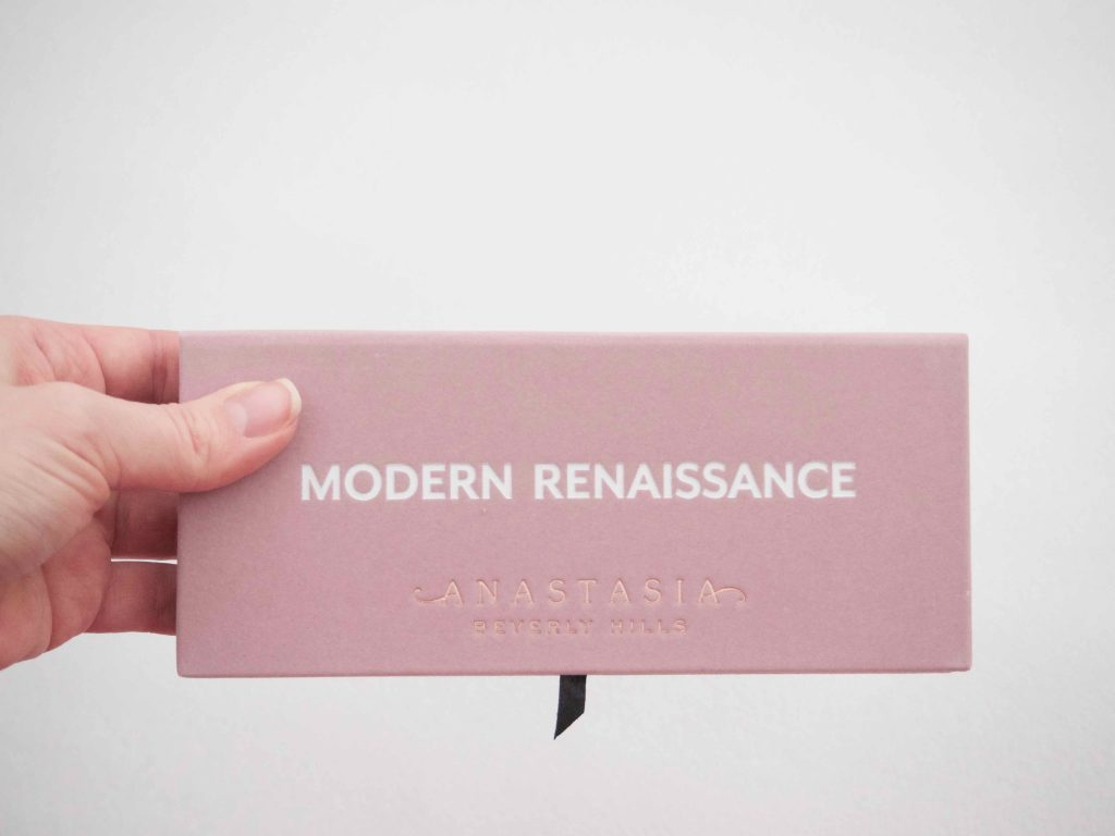 Anastasia Beverly HIlls Modern Renaissance kokemuksia