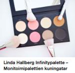 Linda Hallberg meikkipaletti kokemuksia