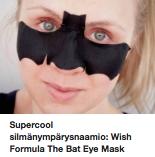 Silmänympärysnaamio ostolakossa