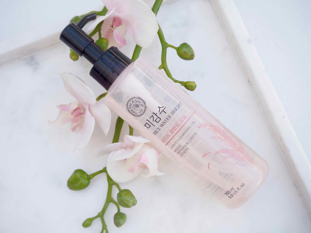 The Face Shop Rise Water Bright Light Cleansing Oil