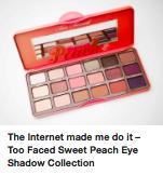 Too Faced Sweet Peach luomiväripaletti kokemuksia