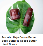 Ziaja Cocoa butter kokemuksia