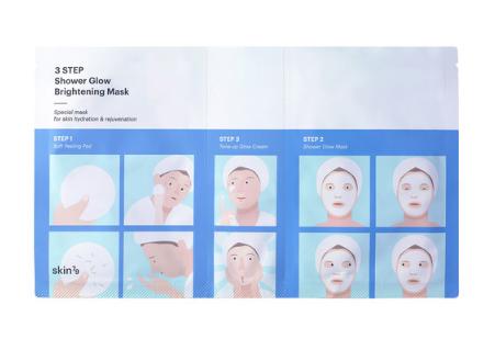 Skin79 3 Step Shower Glow Brightening Mask