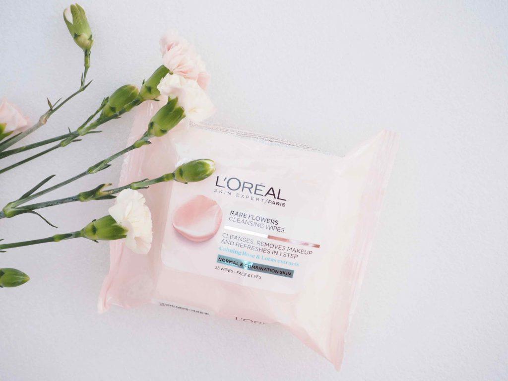 Loreal Paris Skin Expert Rare Flowers Cleansing Wipes