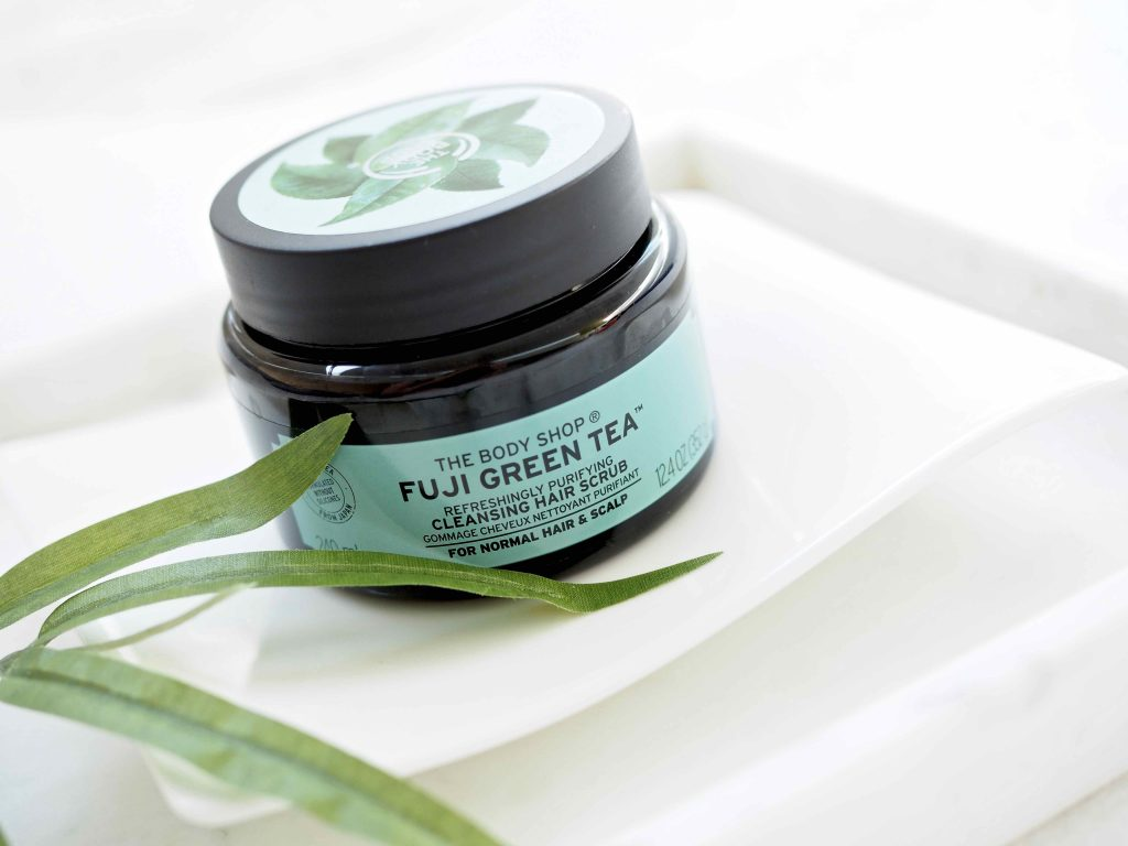 The Body Shop Fuji Green Tea Cleansing Hair Scrub