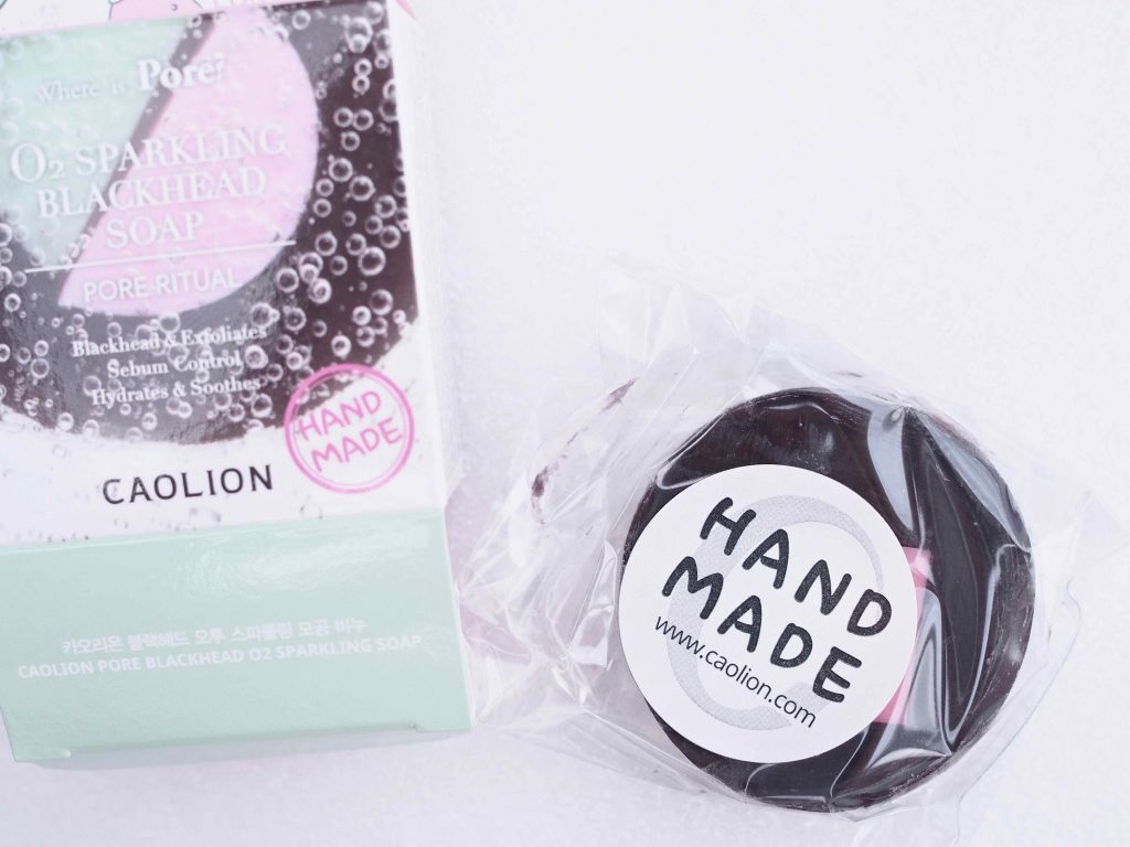 CAOLION O2 Sparkling Blackhead Soap