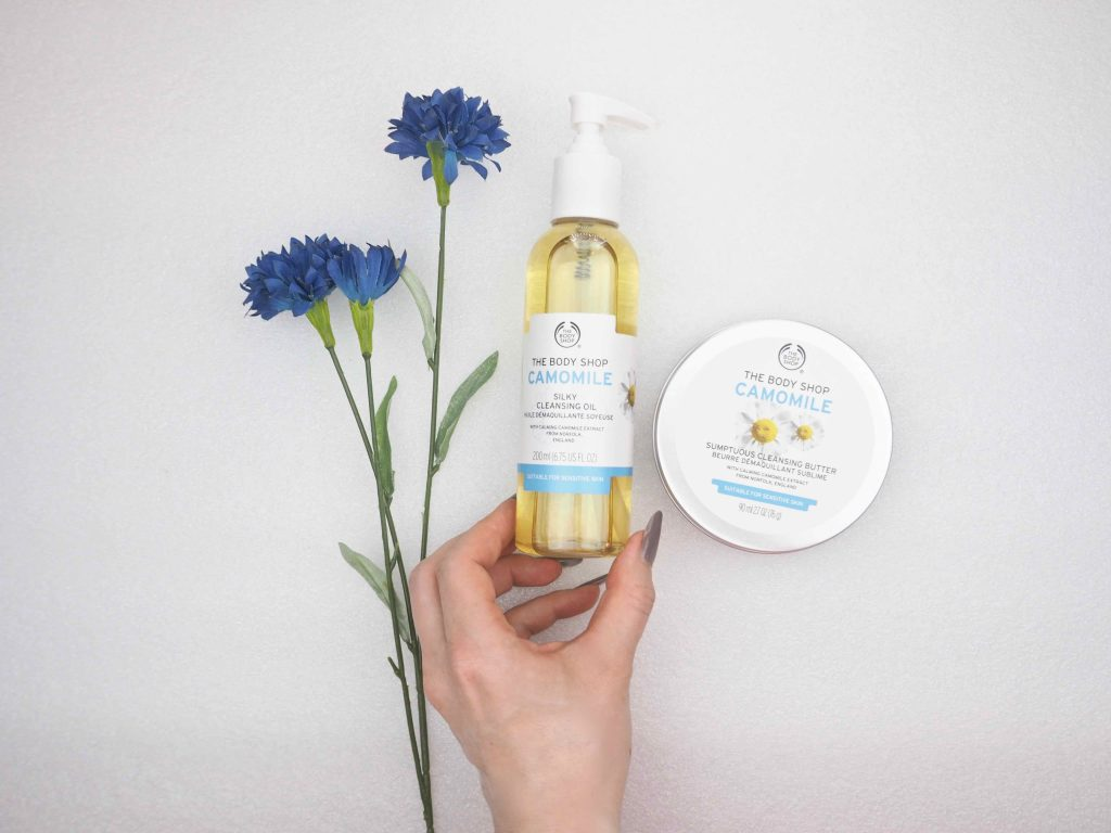 The Body Shop Camomile Sumptuous Cleansing Butter and Oil