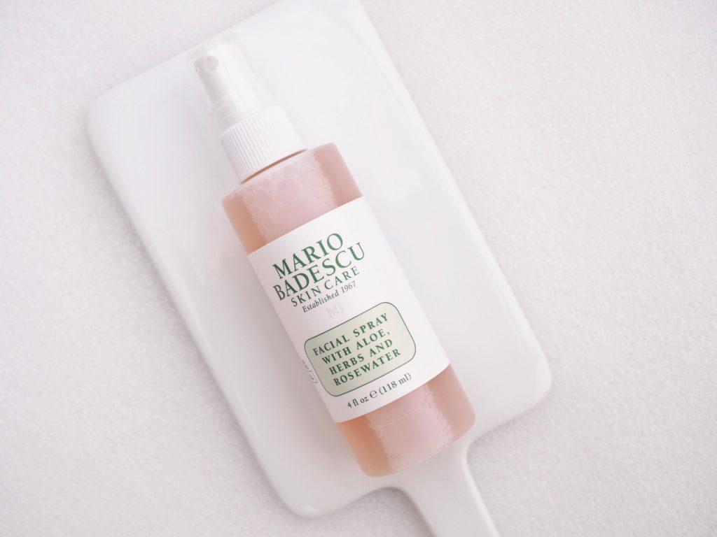 Mario Badescu Facial Spray With Aloe, Herbs and Rosewater Ostolakossa Virve Vee kokemuksia